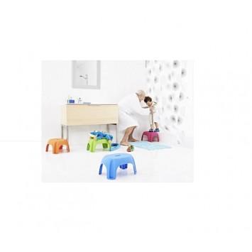 Scaun pentru baie pentru copii portocaliu A1102614 Cod 38113