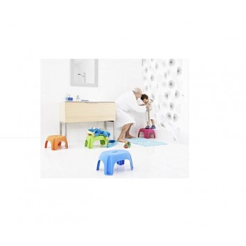 Scaun pentru baie pentru copii portocaliu A1102614 (max. 100Kg) Cod 38113