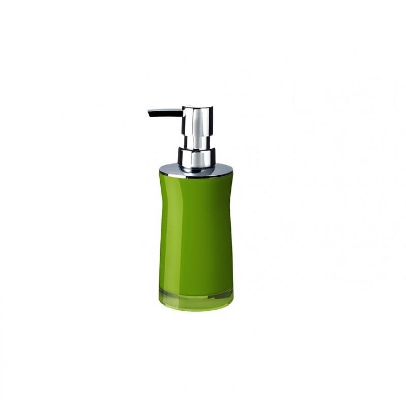 Dozator sapun lichid Ridder Disco verde acrilic lucios 210 ml  cod 38088