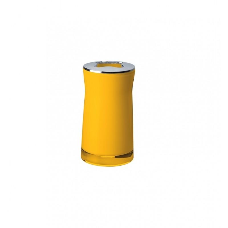 Suport pentru periute de dinti galben 2103204 Cod 38075