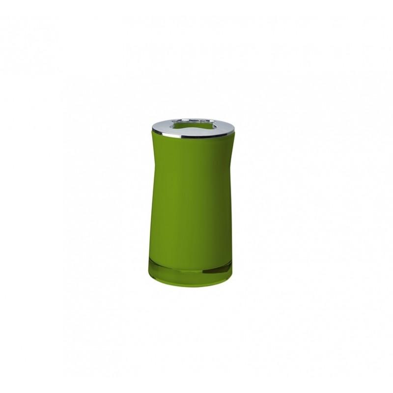 Suport pentru periuta de dinti Disco verde 2103205 Cod 38073