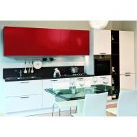 Autocolant d-c-fix Uni rosu lucios 45cmx15m cod 200-1274