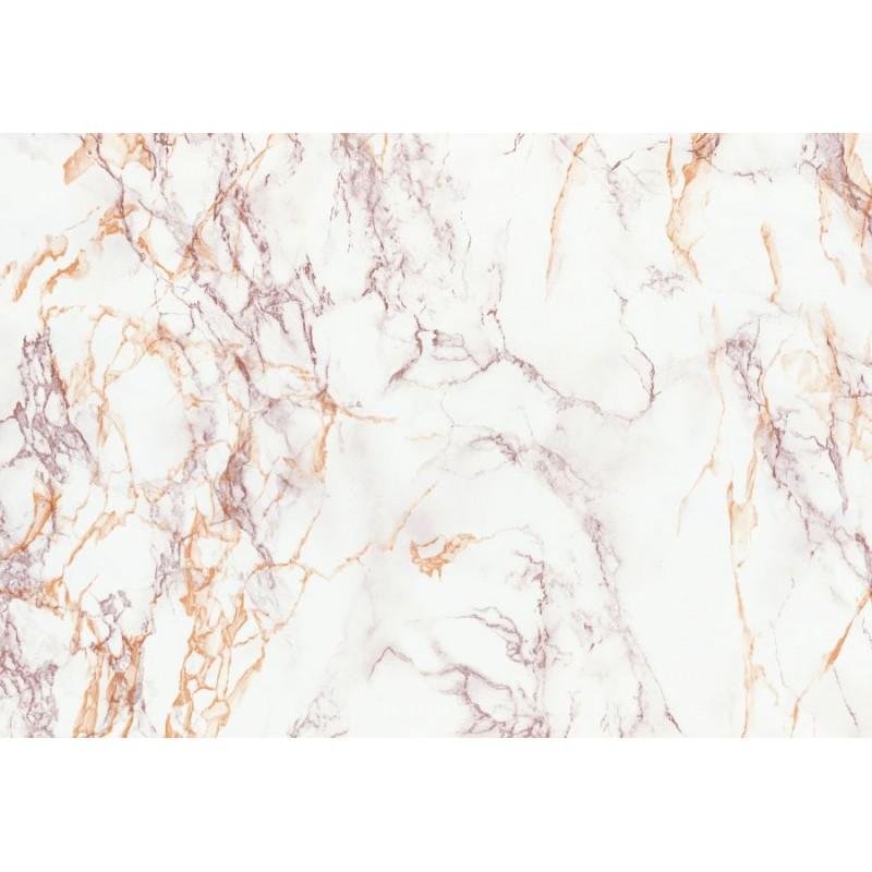 Autocolant d-c-fix imitatie marmura alb cu crem 67.5cmx15m  cod 200-8113
