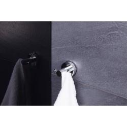 Carlig agatatoare de baie cu ventuze crom cod 38030 (12110200)