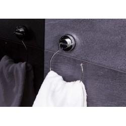 Inel pentru prosop cu ventuze crom cod 38045 (12050000)