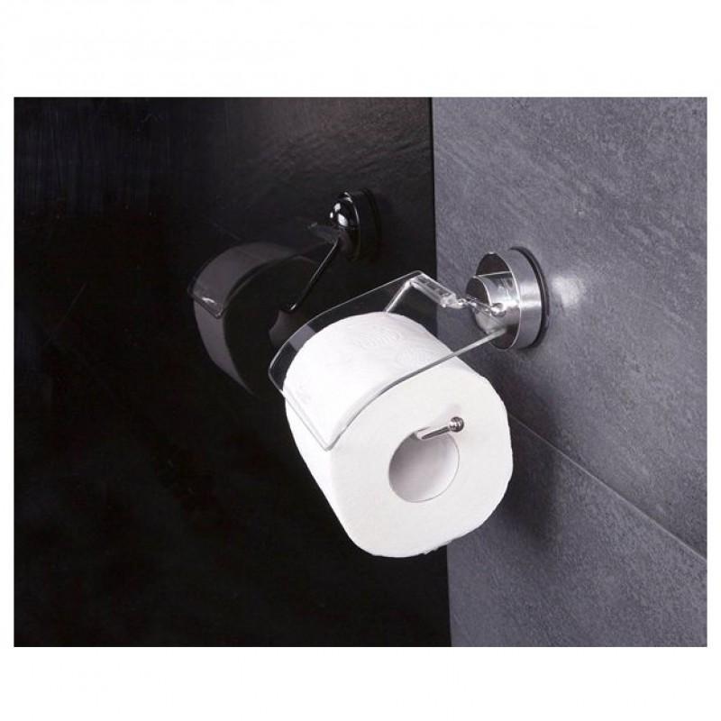 Suport hartie igienica cu ventuza 16.5 x 16.5 x 3.4 cm cod 38043 (12100000)