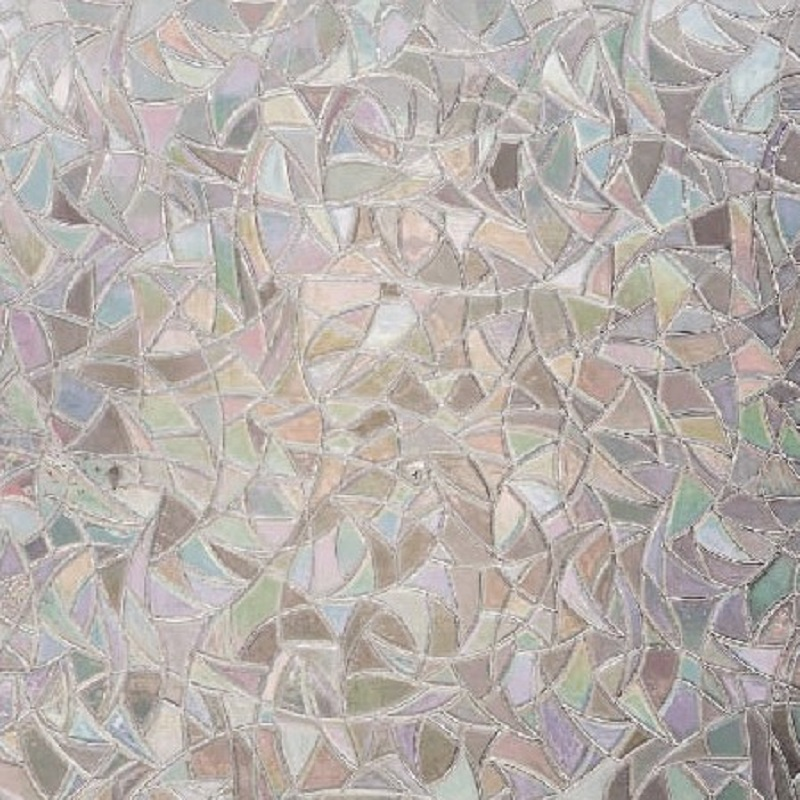 Autocolant Gekkofix Static 3D Trasparent Vitraliu multicolor Catedrala 45cmx1.5m cod 10253 davopro 2021