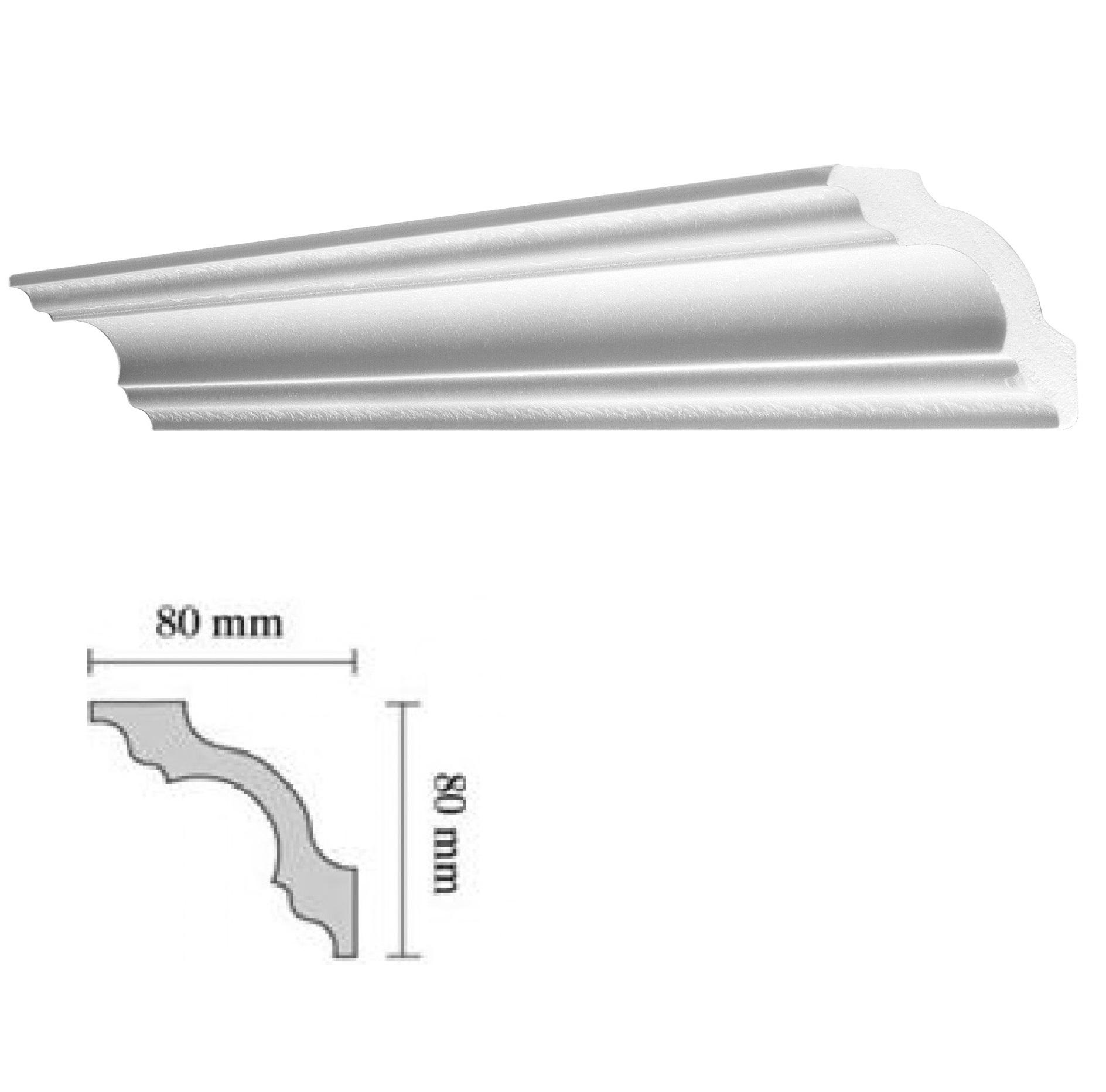 Baghete decorative Decosa- A80 (80x80cm)x50buc cod 13051 davopro 2021