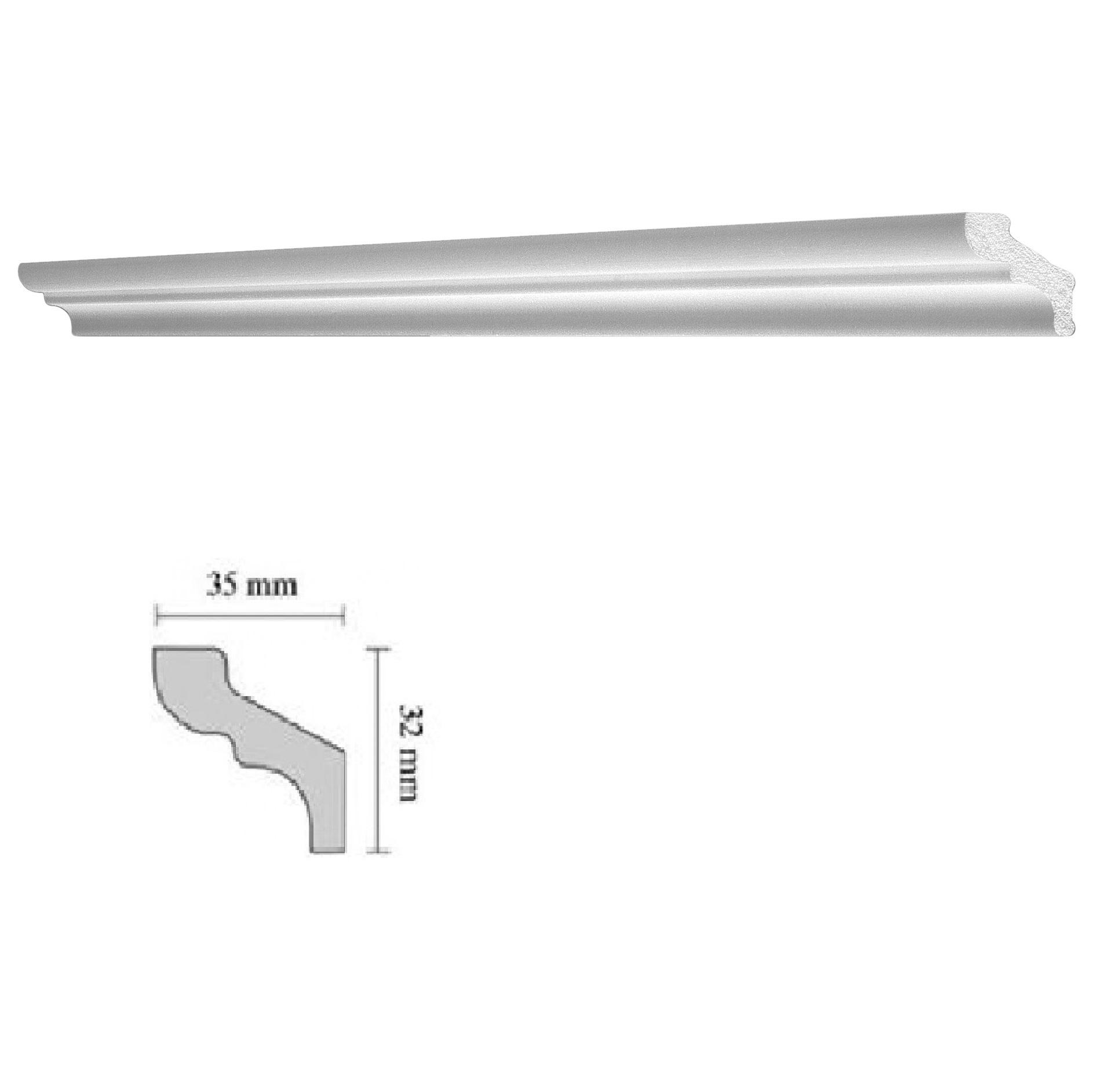 Baghete decorative Decosa- F35 (35x32mm)x120buc cod 13041 davopro 2021