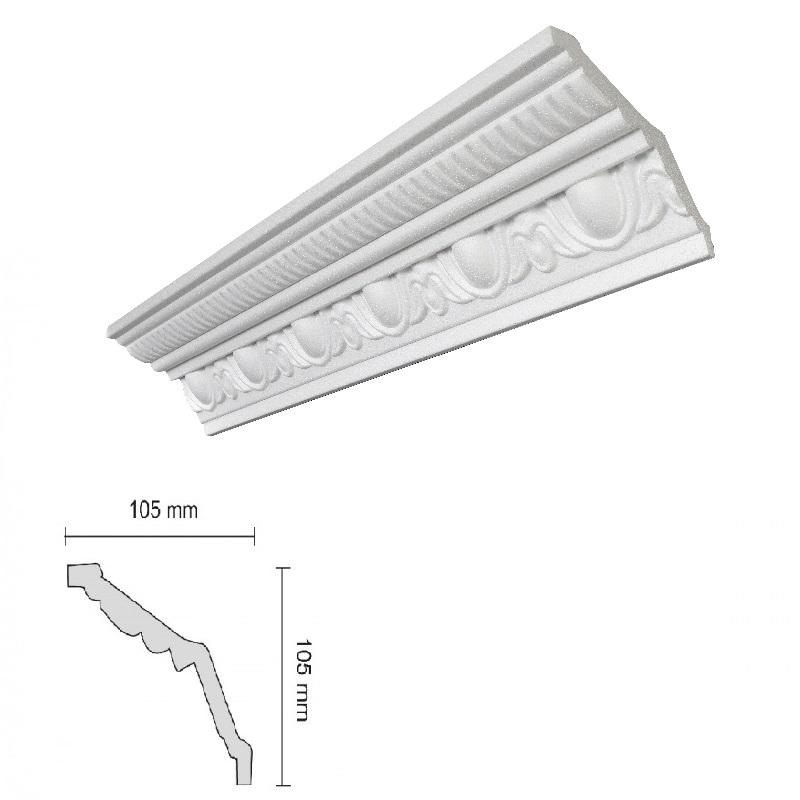 Baghete Decorative Decosa- G38 (105x105mm)x18buc cod 13103 davopro 2021