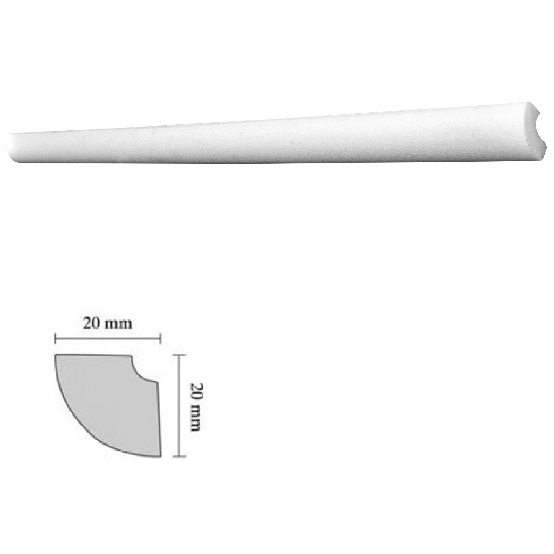 Baghete decorative Decosa- H15 (20x20mm)x180buc cod 13037 2021 davopro.ro