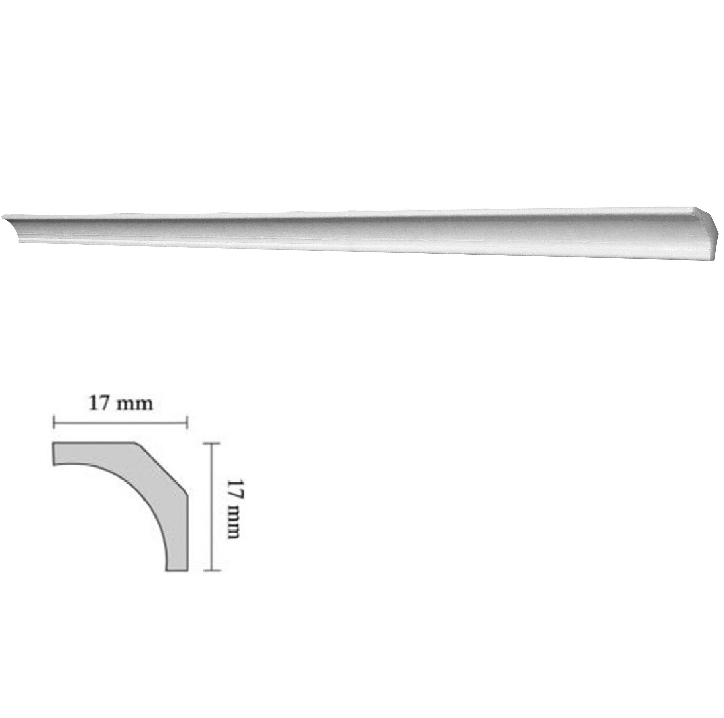 Baghete decorative Decosa- PWX 04 (17x17mm)x350buc cod 13054 davopro 2021