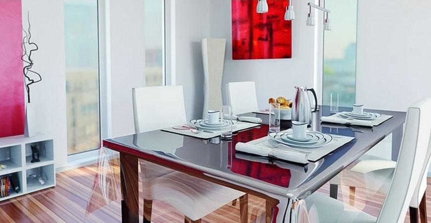 Cum alegeti fete de masa potrivite pentru interiorul casei dumneavoastra