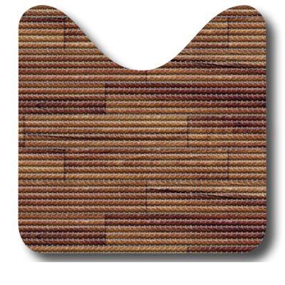 Set pt baie- 2 covorase Plank Brown (80x48 cm + 48x48 cm), cod 79632