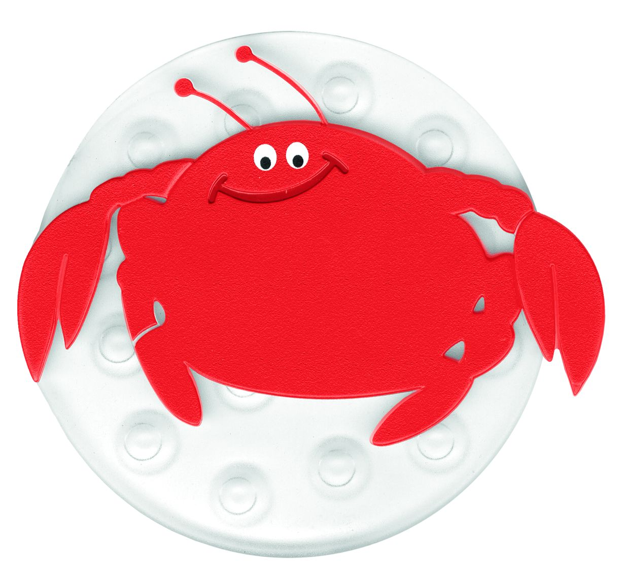 Mini decoratiune baie Crab, set 4 bucati