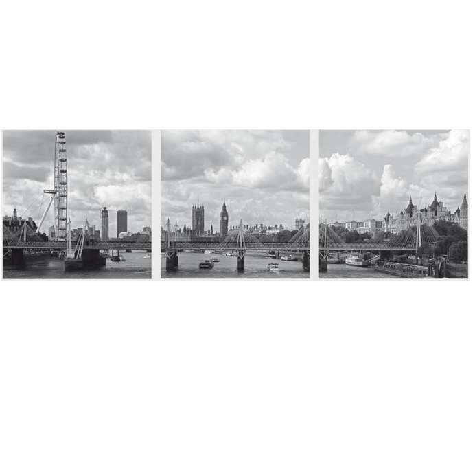 Sticker Panoramic 3 Bucati London